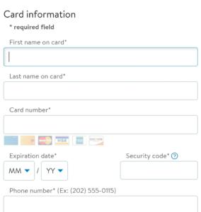 credit card details for walmart carding trick