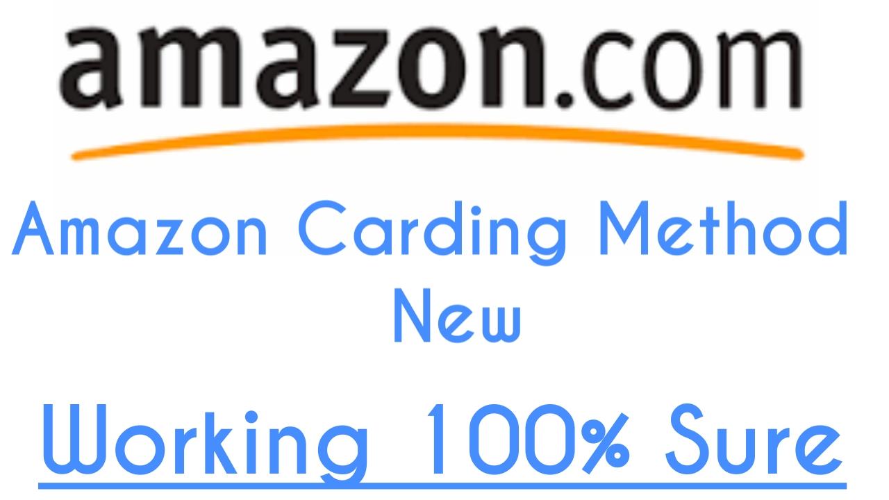 Amazon Carding Method 2019 100% Working Trick - Buy Non VBV CC