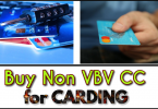 Buy non vbv cc for carding