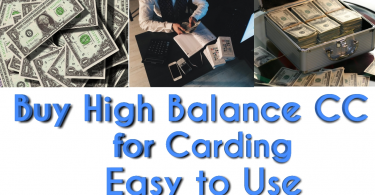 Buy high balance cc