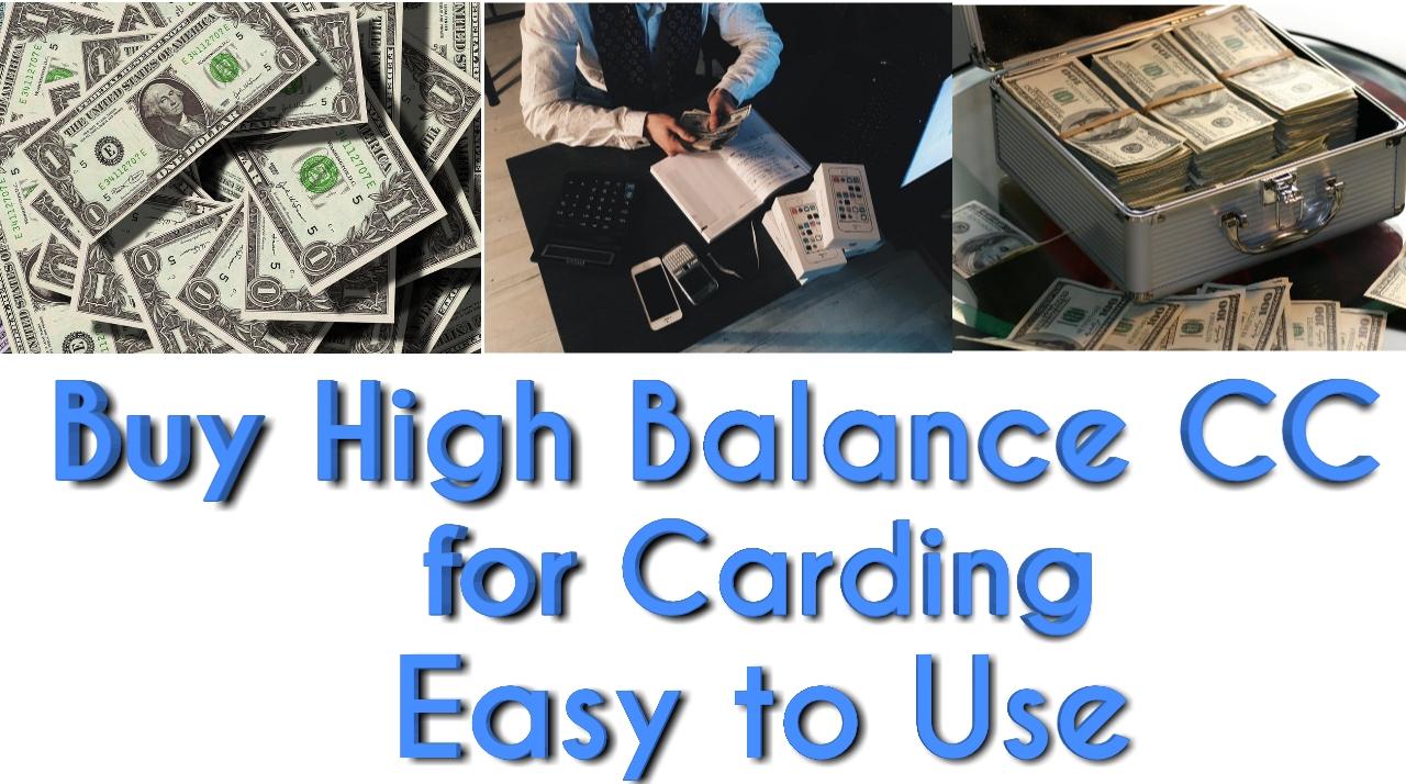 Buy high balance cc