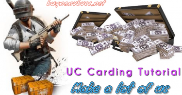 UC carding method of pubg mobile